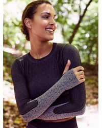 Free People Multicolor Seamless Patience And Strength Crop Patience & Strength Legging