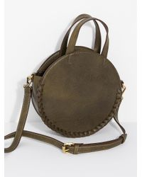 Free People Green Kelly Washed Crossbody