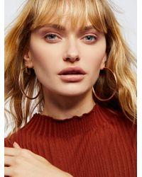 Free People - Multicolor Accessories Jewelry Earrings Hoop Earrings Essential Tube Hoops - Lyst