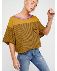 Free People | Multicolor We The Free Girl Crush Tee | Lyst