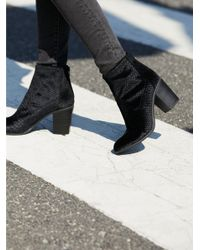Free People - Black Shoes Boots Ankle Boots Vegan Ringmaster Boot - Lyst