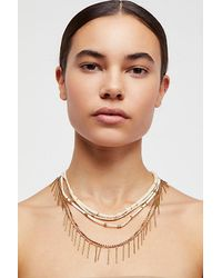 Free People Multicolor Mayan Heishi Necklace