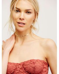 Free People - Red Love Letters Convertible Bra By Intimately - Lyst