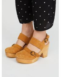 Free People - Multicolor Park Circle Clog - Lyst