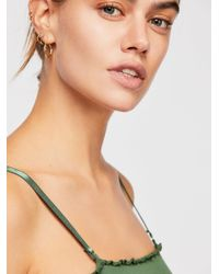 Free People - Green End Game Bandeau - Lyst