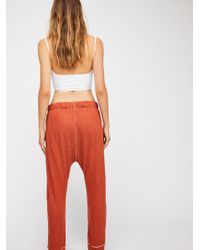 Free People Multicolor Long Haul Jogger By Intimately