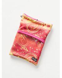 Free People - Pink Banjees Wrist Wallet - Lyst