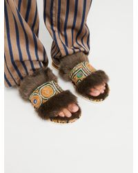Free People Multicolor Laguna Lounge Slipper