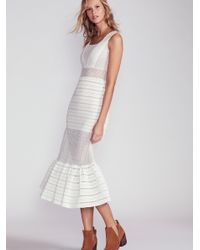 Free People White The Martini Gown