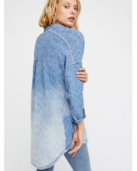 Free People Blue We The Free Tokyo Henley