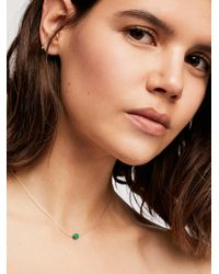 Free People - Multicolor Meaningful Crystal Necklace - Lyst