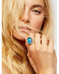 Free People - Metallic Many Moods Mood Ring - Lyst