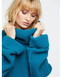 Free People - Blue Park City Pullover - Lyst