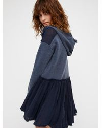 Free People - Blue Summer Dreams Pullover - Lyst