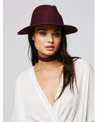 Free People - Multicolor Clean Slate Felt Hat - Lyst