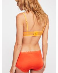 Free People - Orange Day Of The Week Undie - Lyst