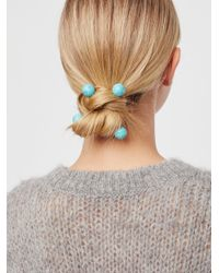 Free People - Multicolor Criss Cross Hair Pins - Lyst