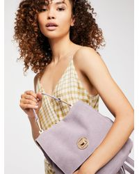 Free People - Multicolor Century Suede Backpack - Lyst
