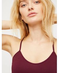 Free People - Natural Baby Racerback - Lyst