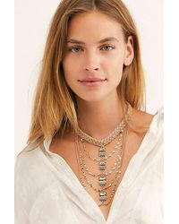 Free People Multicolor Sarasota Layered Necklace