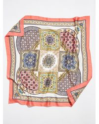 Free People - Multicolor Moroccan Tile Print Bandana - Lyst
