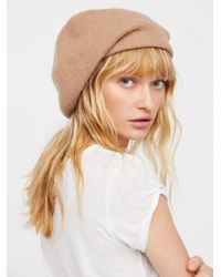 Free People - Multicolor Bisous Slouchy Beret - Lyst