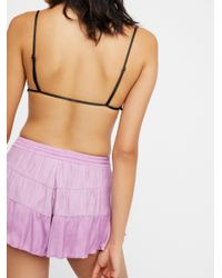 Free People Purple Intimates Bottoms Shorts Flirty Flirty Short