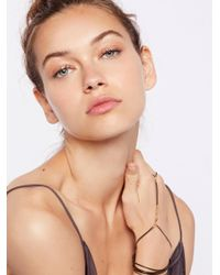 Free People - Multicolor Slinky Chain Hand Wrap - Lyst