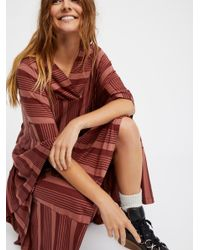 Free People Multicolor Cry Me A River Tunic