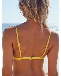 Free People - Multicolor Acapulco Bralette Bikini Top - Lyst