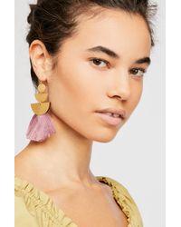 Free People Pink Alamo Single Earring By Sandy Hyun