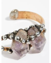 Free People - Multicolor Canyon Raw Stone Cuff - Lyst