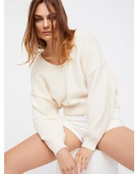 Free People - Natural Perfect Day Pullover - Lyst