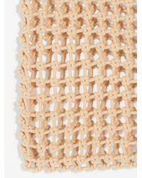 Free People - Natural Beaded Net Bag - Lyst
