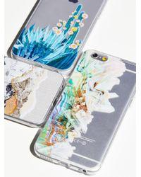 Free People | Multicolor Technicolor Iphone Case | Lyst