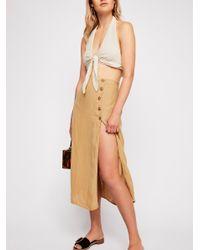497948a511ca5 Free People. Women s Roman Holiday Midi Skirt