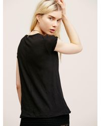 Free People - Black We The Free Clare Tee - Lyst