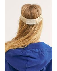 Free People - Multicolor Baha Straw Visor - Lyst
