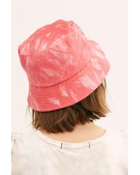 Free People Multicolor Tie Dye Throwback Bucket Hat