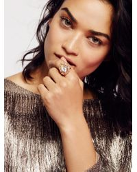 Free People | Multicolor Astrid Opal Ring | Lyst
