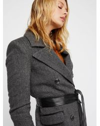 Free People Black Clothes > Jackets > Coats Soho Coat