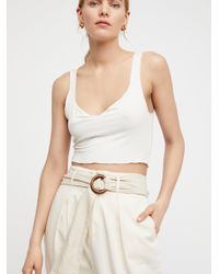 Free People - White Summer Nights Wrap - Lyst