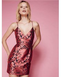 Free People Pink Queen Of Hearts Mini