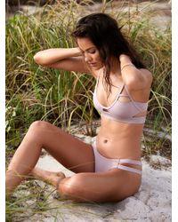 Free People Multicolor Swim Bikini Bottoms Chloe Moderate Bikini Bottom