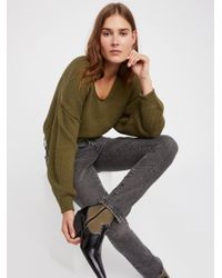 Free People - Green Perfect Day Pullover - Lyst