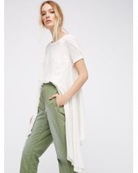 Free People | White Bali Rocky Love Top | Lyst