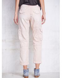 Free People - Pink Basquiat Pant - Lyst