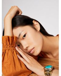 Free People - Multicolor Spirit Stone Cuff - Lyst