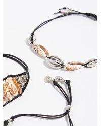 Free People - Metallic Sandy Bay Bracelet - Lyst