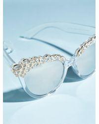 Free People Metallic Belle Of The Ball Sunglasses